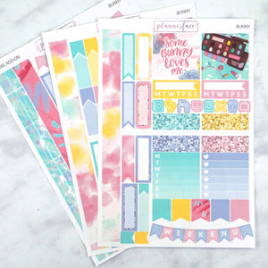 Plannerface Bunny Mini Kit Planner Stickers
