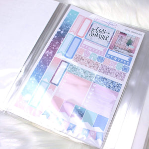Plannerface Candy Floss Sticker Album (Large) Planner Stickers
