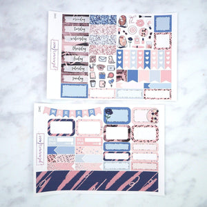 Plannerface Chic Mini Kit Planner Stickers