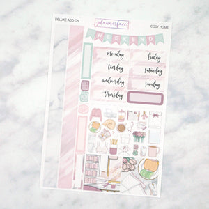 Plannerface Cosy Home Mini Kit Planner Stickers