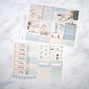 Plannerface Daisy Weekly Kit Planner Stickers