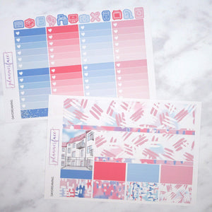 Plannerface Daydreaming Weekly Kit Planner Stickers