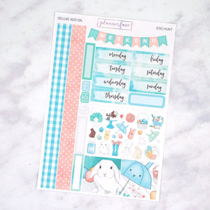 Plannerface Egg Hunt Mini Kit Planner Stickers