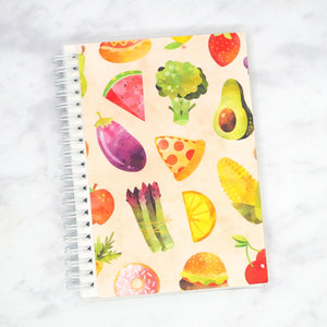 "Plannerface Foodie Reusable Sticker Album (5"" x 7"") Planner Stickers"