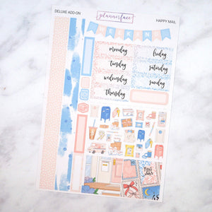 Plannerface Happy Mail Mini Kit Planner Stickers