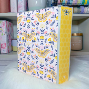 Plannerface Honey Bee Sticker Album (Large) Planner Stickers