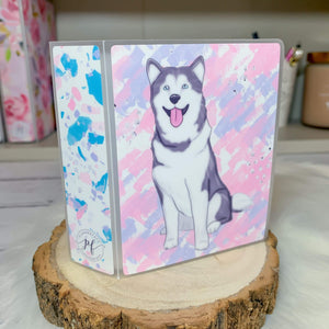 Plannerface Husky Sticker Album (Mini) Planner Stickers