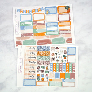 Plannerface Hygge Happiness Mini Kit Planner Stickers