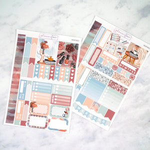 Plannerface Inspired Mini Kit Planner Stickers