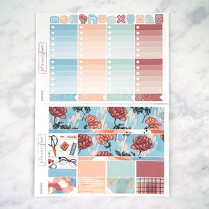 Plannerface Inspired Weekly Kit Planner Stickers