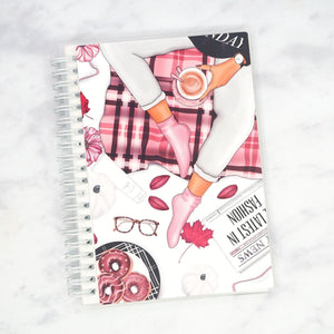 "Plannerface Light Lazy Day Reusable Sticker Album (5"" x 7"") Planner Stickers"