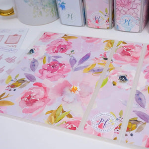 Plannerface Mauve Rose Sticker Album (Small) Planner Stickers