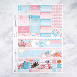 Plannerface May Monthly Kit Planner Stickers