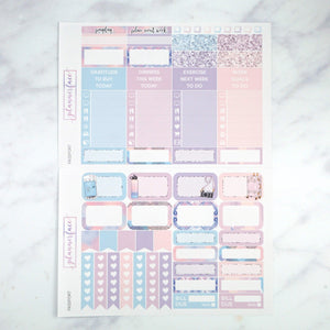 Plannerface Passport Weekly Kit Planner Stickers