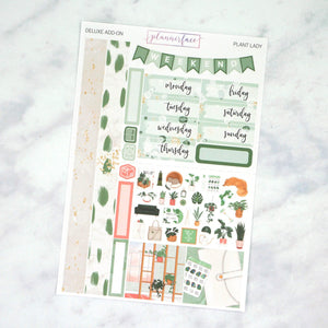 Plannerface Plant Lady Mini Kit Planner Stickers