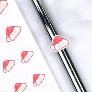 Plannerface Santa Hat (Traditional) Doodles Planner Stickers