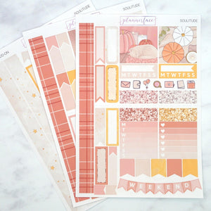 Plannerface Soulitude Mini Kit Planner Stickers