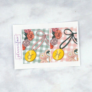 Plannerface Spring Birthday Weekly Kit Planner Stickers
