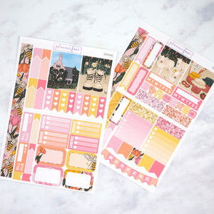 Plannerface Spring Mini Kit Planner Stickers