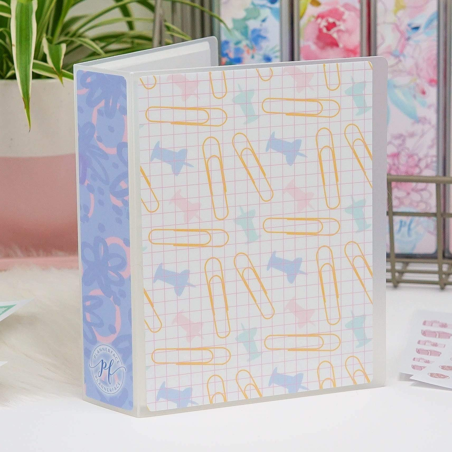 Plannerface Stationery Addict Sticker Album (Small) Planner Stickers