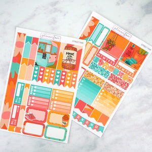 Plannerface Street Fair Mini Kit Planner Stickers