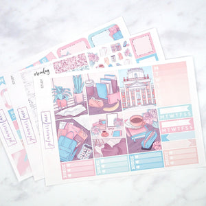 Plannerface Study Mini Kit Planner Stickers