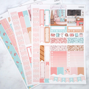 Plannerface Sundae Mini Kit Planner Stickers
