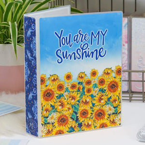 Plannerface Sunflower Sticker Album (Large) Planner Stickers