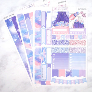 Plannerface Supernova Mini Kit Planner Stickers