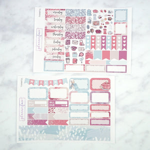 Plannerface Thankful Mini Kit Planner Stickers
