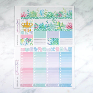 Plannerface The Big Meet 2020 Weekly Kit Planner Stickers