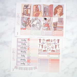 Plannerface Tulip Weekly Kit Planner Stickers