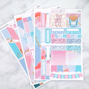 Plannerface Vibes Mini Kit Planner Stickers