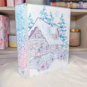 Plannerface Winter Cabin Sticker Album (Large) Planner Stickers