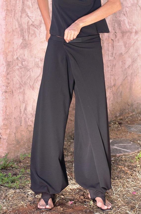 P.O Origami Trousers - 4 Way Women Wrap Pants