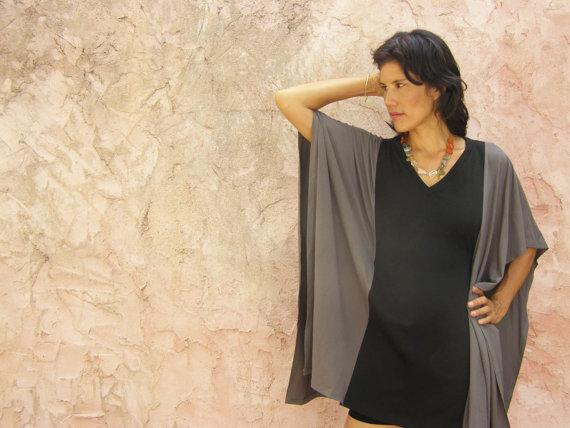 Comfortable 2 Colors Oversize Tunic