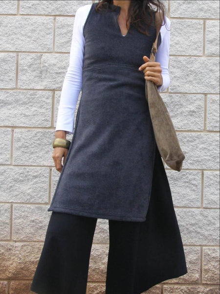 Cozy Fleece Asian Tunic