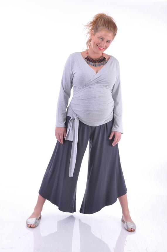 Triangular Women's Maternity and Plus Size Pants