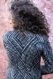 Geometric  Wrap Jacket
