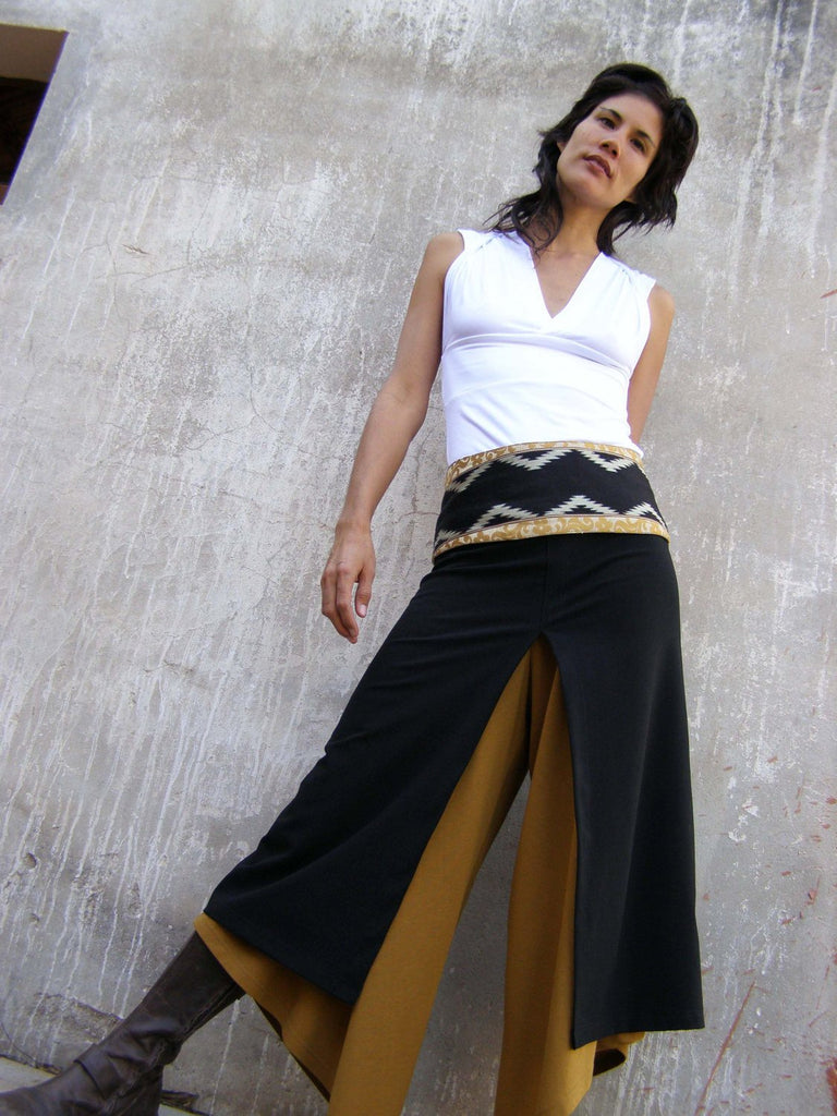 Chic Split Skirt