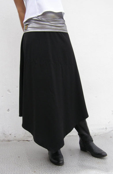 Asymmetric Triangular Skirt
