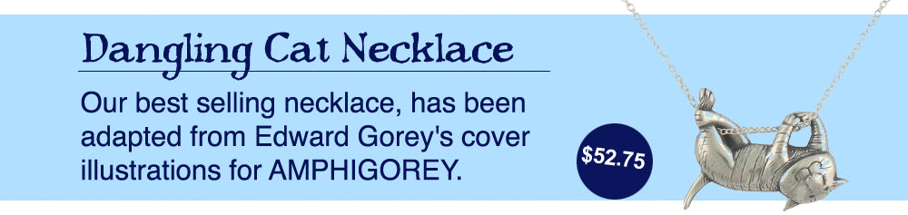 Edward Gorey Necklace