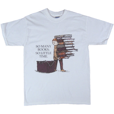 Edward Gorey So Many Books (Boy) T-Shirt