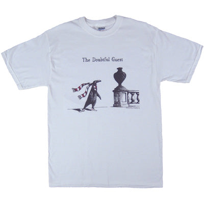 Edward Gorey Doubtful Guest T-Shirt