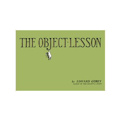 The Object-Lesson (On Sale) Book