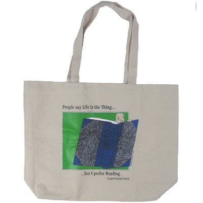 I Prefer Reading Tote Bag