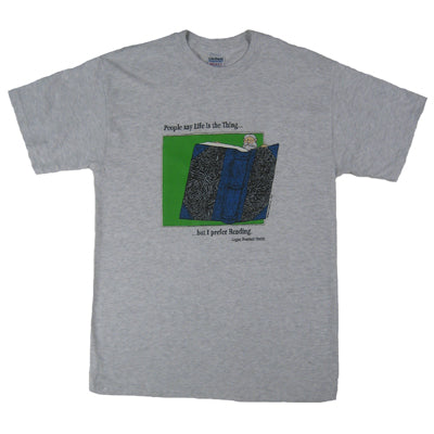 Edward Gorey I Prefer Reading T-Shirt