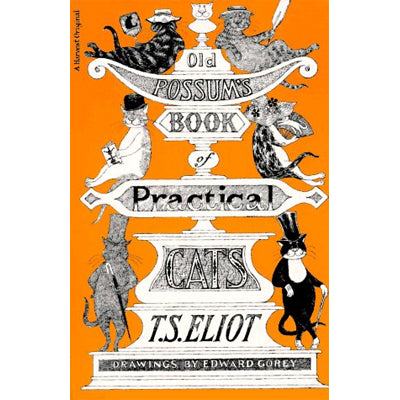 Old Possum's Book of Practical Cats, Illustrated Edition  Book - GoreyStore
