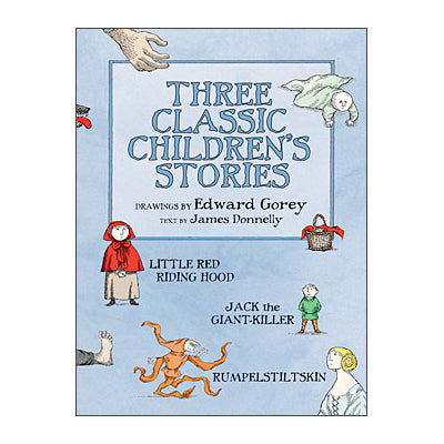 Three Classic Children's Stories Book - GoreyStore