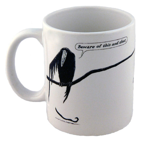 Edward Gorey The Epiplectic Bicycle Mug